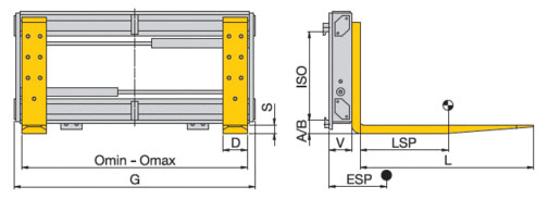 Zinkenverstellung ZV (Hochleistungsmodell) Image